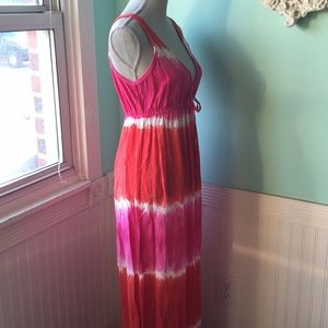 C&C California Dresses - c&c California tie die maxi sundress beach cover
